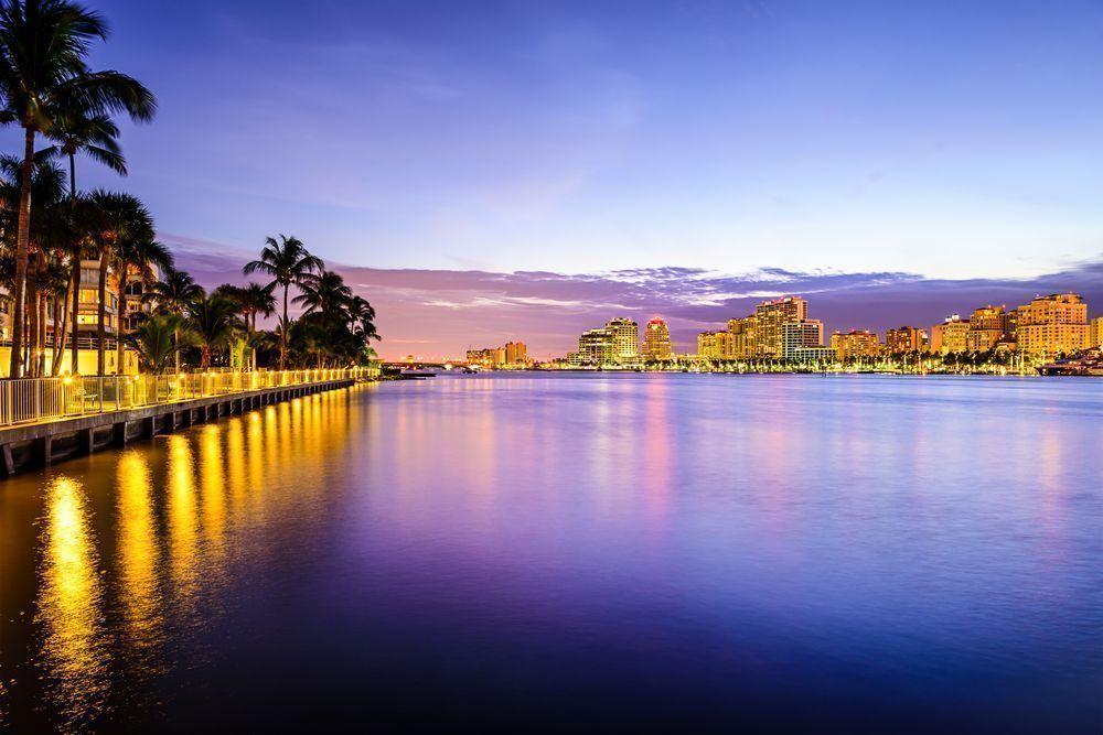 Cloud Lake in Palm Beach, Florida