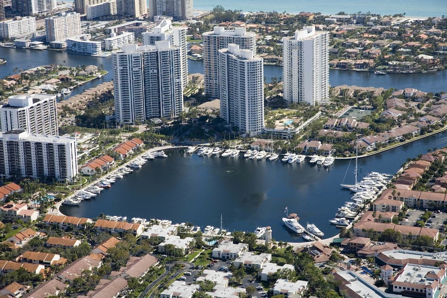 Aventura in Miami-Dade County, Florida